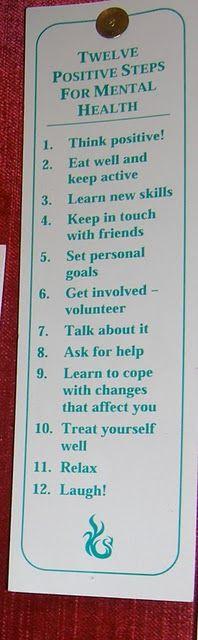 12 positive steps
