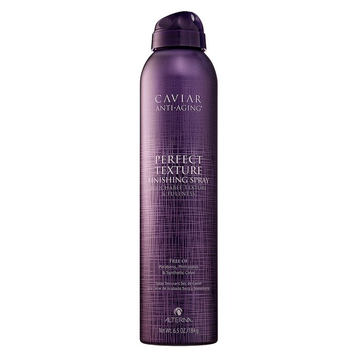 Best texturizer for wavy hair: Alterna Haircare Caviar Anti-Aging Perfect Texture Finishing Spray
