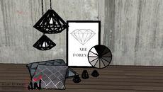 3D Model of Diamond Decoration