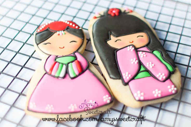 Korean & Japanese dolls | Cookie Connection--amy's sweetcraft