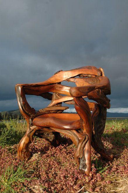 Cedar root chair