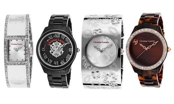 Christian Lacroix – знаменитый французский бренд  Подробнее: http://okidoki.kiev.ua/brendy/chasy/christian-lacroix/ #christianlacroix #watches #часы