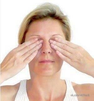 Шиацу: от мешков и темных кругов под глазами и для улучшения зрения 0