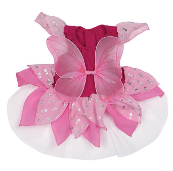 Fairy Tales can come true for you pup this Halloween. This beautiful Fairy Tails Dog Costume Dress is like a dream and so pretty that your do will get loads of loving attention! Great for Halloween parties, trick-or-treating, or photo ops!