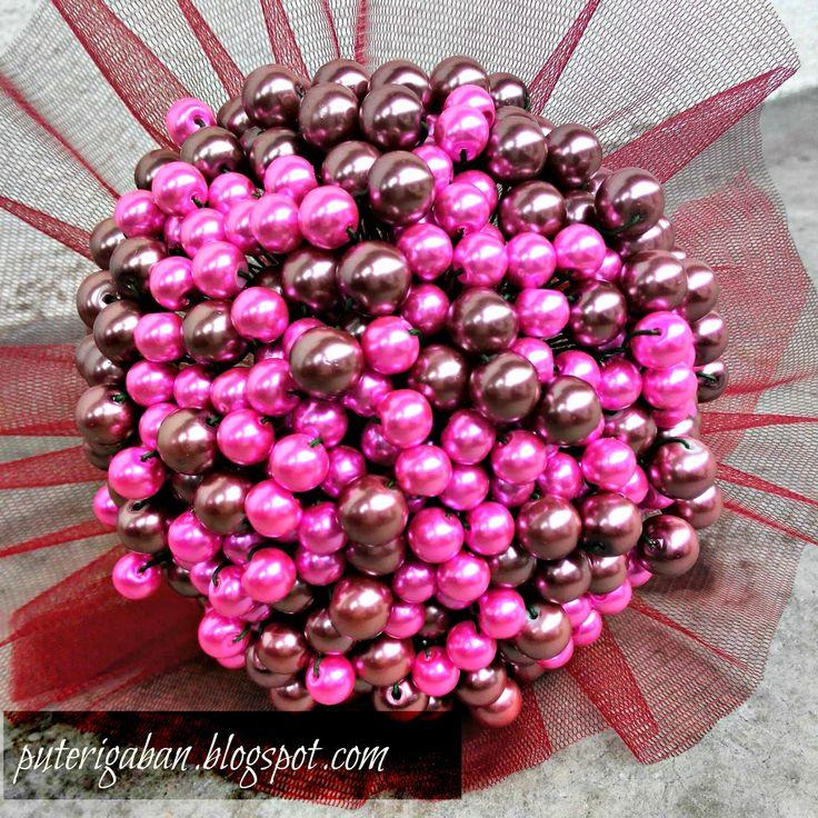 Nursaila Norman: Pearl Hand Bouquet : Bride 2 Be Seberang Perai, Pe...