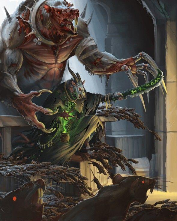 Warhammer Skaven Art Collection   Triggerplug