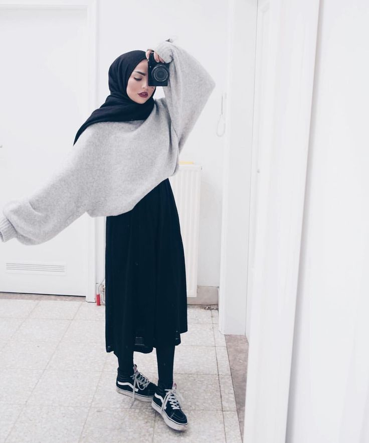 @sauf.etc on Instagram- Hijab Style Inspiration Casual #hijabfashion,
