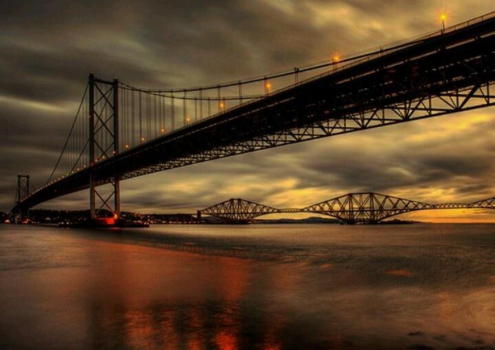 Forth bridges, Edinburgh Puentes, Viajes, Escocia
