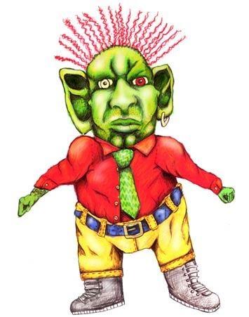 Marcellous - Illustration for Children's Storybook 2002