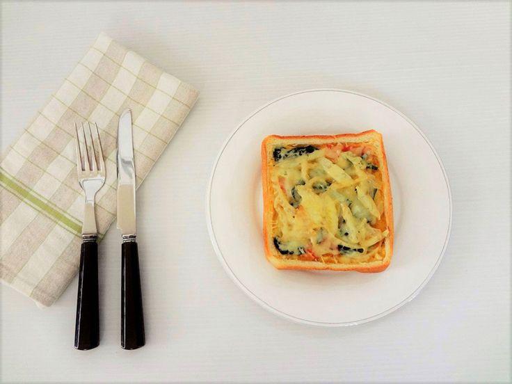 フランス生まれのキッシュを「食パン」で♪ パリのカフェ気分で楽しむ休日モーニング | Spark GINGER