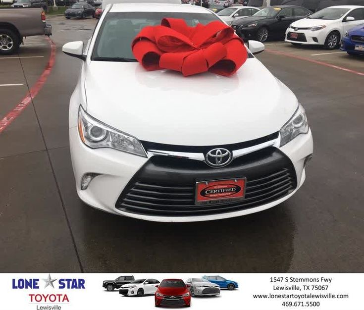 Congratulations Kenneth on your #Toyota #Camry from Chris Richardson at Lone Star Toyota of Lewisville!  https://deliverymaxx.com/DealerReviews.aspx?DealerCode=E208  #LoneStarToyotaofLewisville