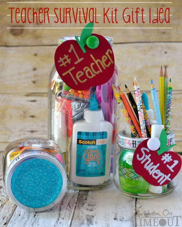 Teacher Survival Kit Gift Idea – perfect for back to school or Teacher Appreciat…