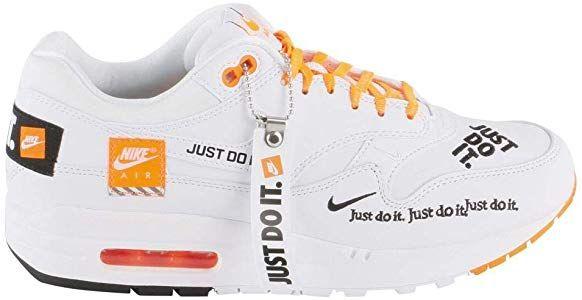 huge discount 5711e 336e4 Nike Wmns Air MAX 1 LX, Zapatillas de Gimnasia para Mujer, Blanco (White