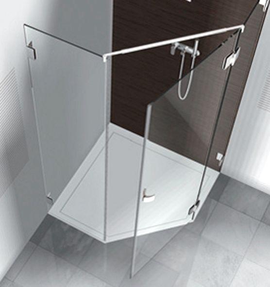 Neo Angle Shower Door Frameless