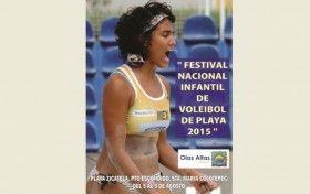 Da inicio el Festival Nacional Infantil de Voleibol de Playa 2015