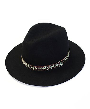 This Black Geo-Band Fedora is perfect! #zulilyfinds