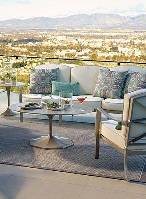 Sleek Modern Outdoor Furniture.