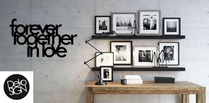 DEKOSIGN: scritte decorative 3D per pareti.