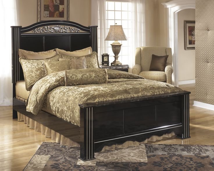 Constellations Queen Poster Bed By Signature Design By Ashley. Get Your  Constellations Queen Poster Bed At Roadside Furniture, Ramsey MN Furniture  Store.