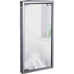 Buy Mirrored Bathroom Corner Cabinet   Stainless Steel At Argos.co.uk,  Visit · Bad EckschrankEckschränkeBadezimmer ...