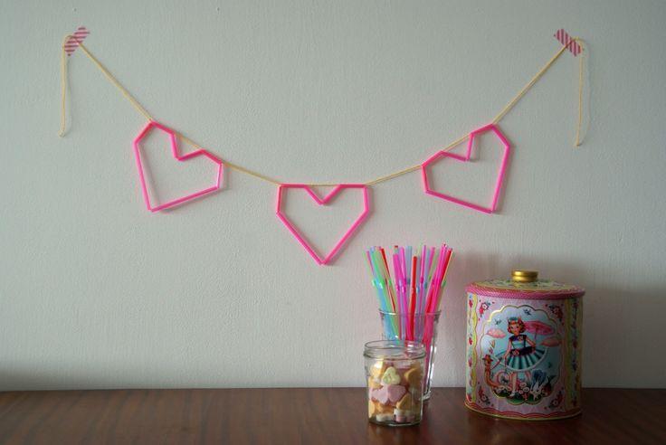 25 beste idee n over rietjes knutselen op pinterest drinken met een rietje ambachten rietjes - Kunst en decoratie kamer ...