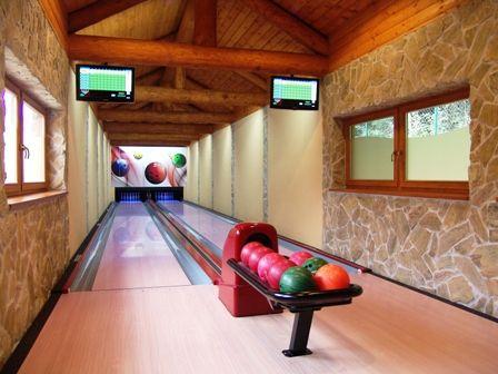 Freetime with bowling, Hotel Kaskady   #luxury #holiday #hotel #kaskady #freetime #bowling #play #sport