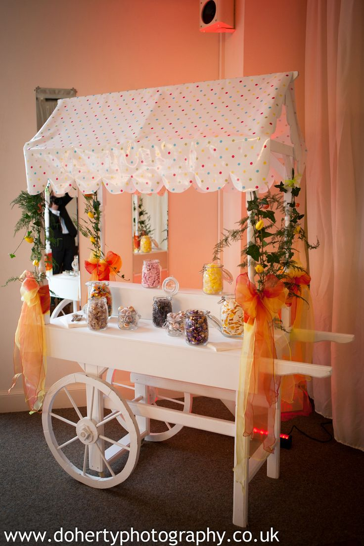 For your guests with a sweet tooth - why not have our retro sweet trolley