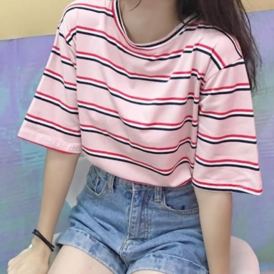 extraordinary aesthetic striped shirt outfits