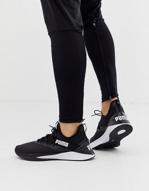 fe38d2554 Puma training Jaab XT sneakers in black in 2019 | training outfit ...