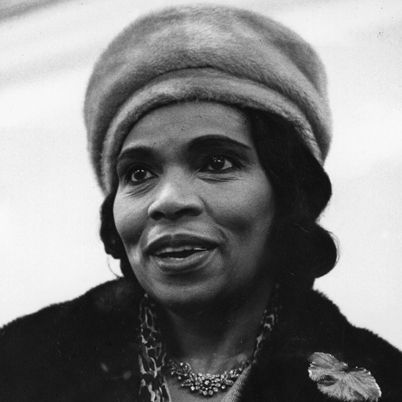 Marian Anderson Born February 27, 1897, in Philadelphia, displayed vocal talent as a child, but her family could not afford to pay for formal training. Members of her church congregation raised funds for her to attend a music school for a year, and in 1955 she became the first African American singer to perform as a member of the Metropolitan Opera in New York City.