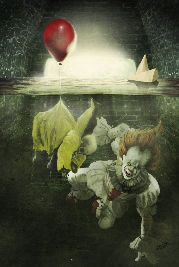 If you'll come with me..you'll FLOAT TOO! by Danthemanfantastic