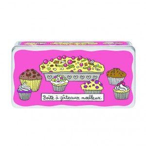 Boîte à gâteaux moelleux