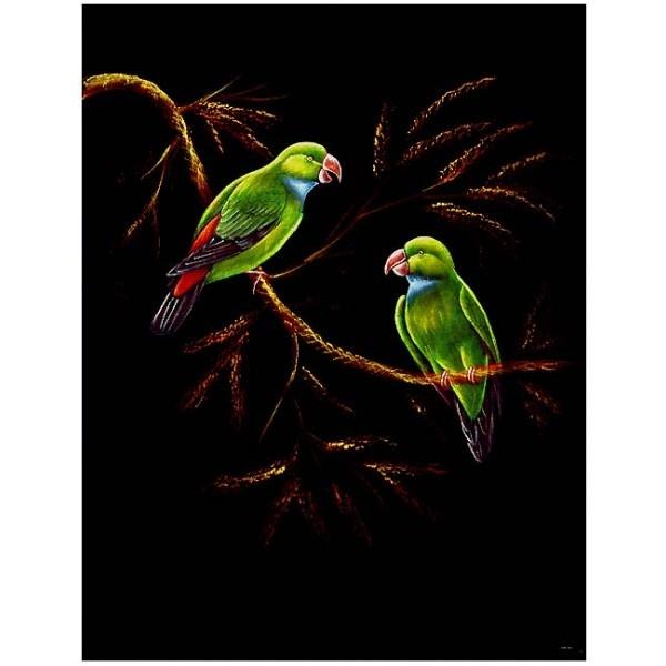 The Couple - Velvet Painting