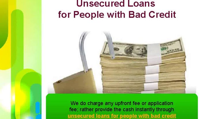 Easy Cheap Loan is a dependable online lending hub in the UK, presenting personalised deal on unsecured loans, especially for those individuals who are having bad credit score. To know more, visit: http://www.easycheaploan.com/unsecured-loans-for-bad-credit.html
