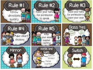 whole brain teaching rules and super improver wall cards