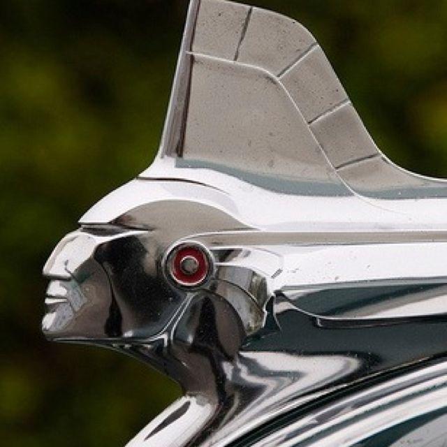 Pontiac Indian hood ornament. (just cool looking)