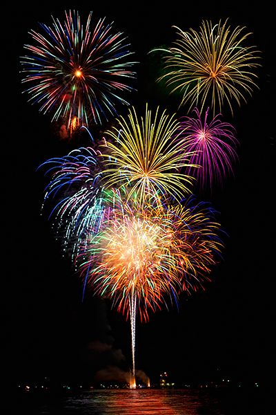 10 best Fourth of July firework displays #Travel #4thofJuly - Definitely need to spend a Fourth of July in America!