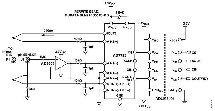 Analog Devices - CN0326 Block Diagram