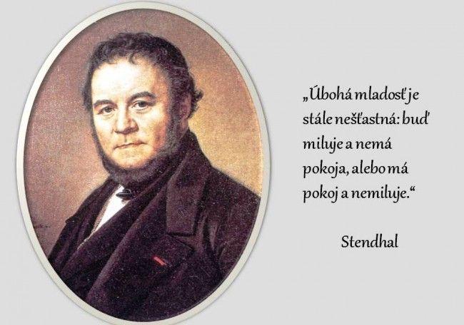 Stendhalove romány začali čitatelia vyhľadávať až po jeho smrti - Zaujímavosti - SkolskyServis.TERAZ.sk