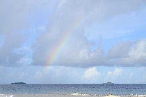 ミクロネシア連邦のジープ島という無人島に行ってきました。