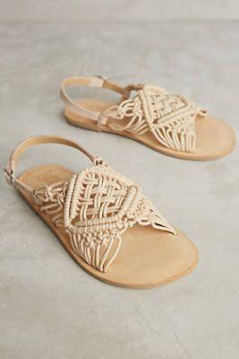 zapatos de mujer, tacones, cuñas y sandalias, estilo bohemio, de Anthropologie