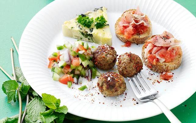 Spis de små hapsere til frokost eller aften – gode til både hverdag og fest.
