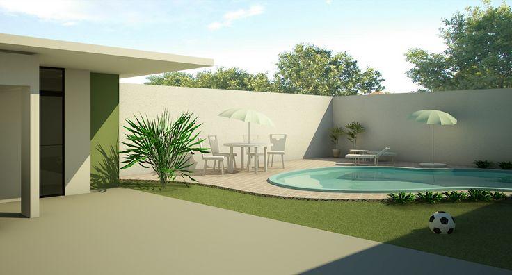 projetos de ediculas com piscina 8