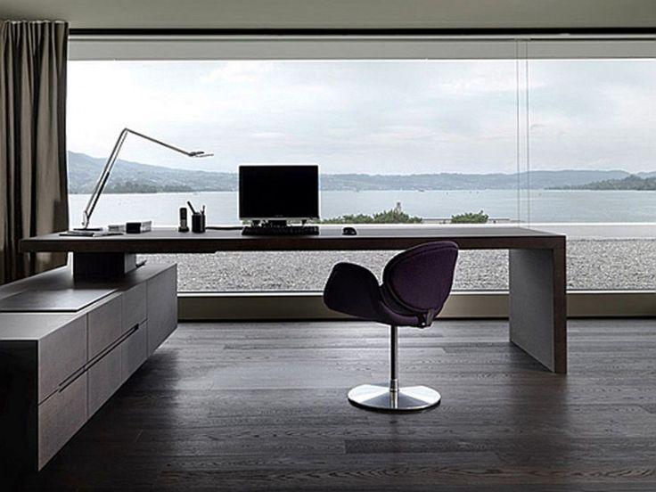 Interiors U003e Home Office Interior Design Modern Home Workspace Interior  Design Decobizz. 513 Times Like By User Interior Design On A Budget Home  Office ...