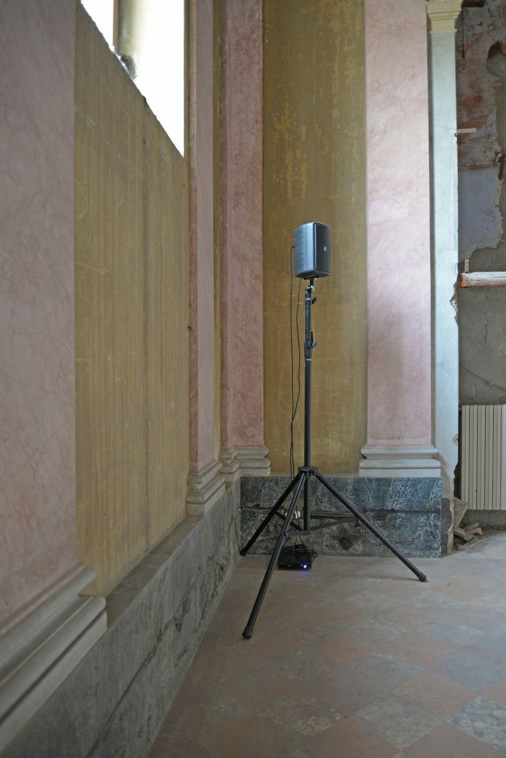 """contemporary locus 6 Jo Thomas, """"Rocco"""", 2014 Composizione sonora San Rocco, Bergamo Courtesy Mario Albergati"""