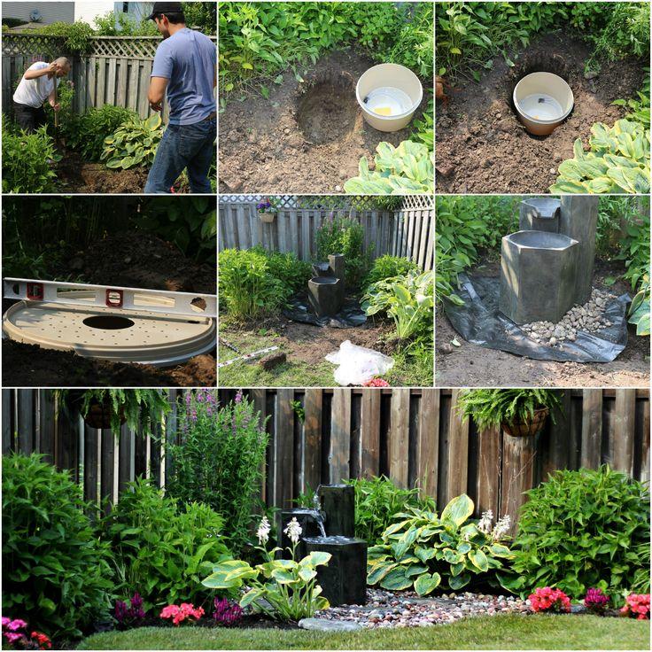 craftberry bush easy to install garden fountain
