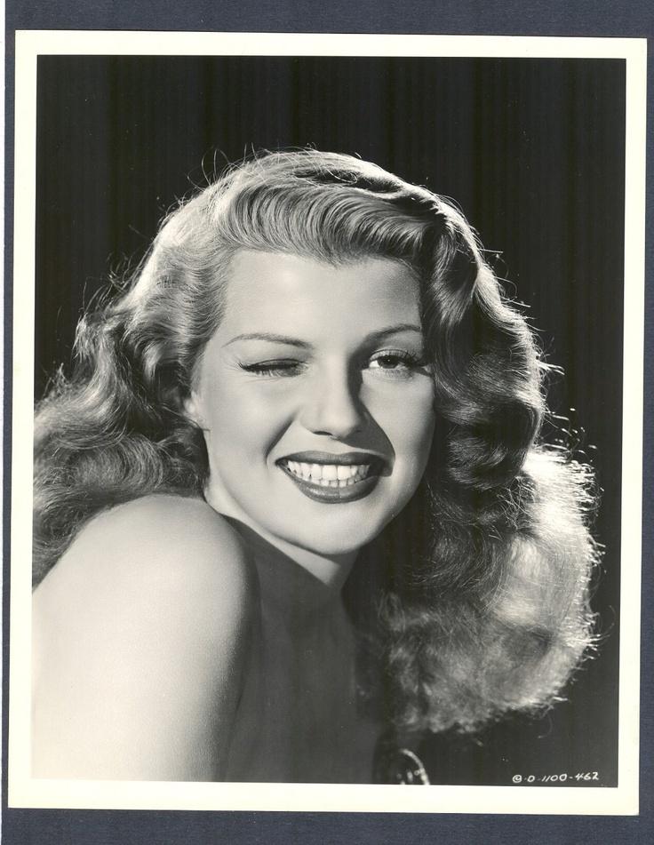 Exquisite Portrait of Rita Hayworth Winking EXC Cond 1947 Sex Symbol Goddess | eBay