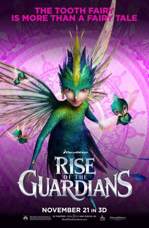 Tooth Fairy - Rise of the Guardians 11.21.12