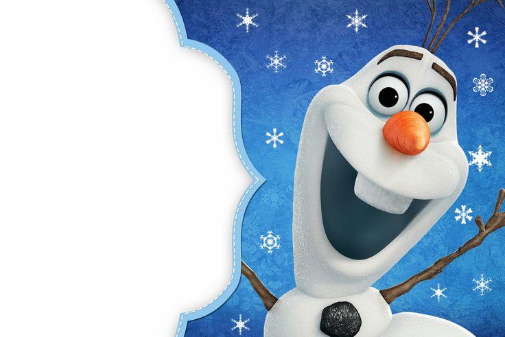 inviti-compleanno-bambini-olaf-frozen