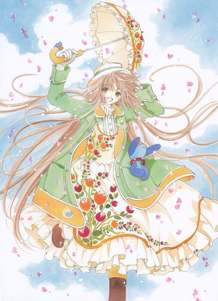 Kobato manga artbook illustration by CLAMP Kobato Kawaii